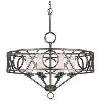 Crystorama Odette 8 Light Chandelier in English Bronze 9448-EB