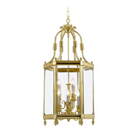 Crystorama Windsor 9 Light Foyer Lantern in Polished Brass 949-PB