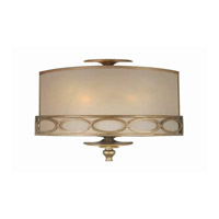 Crystorama Lighting Eclipse 3 Light Wall Sconce in Antique Brass 9602-AB
