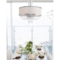 Crystorama 9806-CH Allure 6 Light 24 inch Polished Chrome Chandelier Ceiling Light alternative photo thumbnail