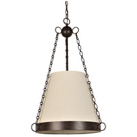 Ellis 6 Light 20 inch Charcoal Bronze Chandelier Ceiling Light