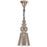 Crystorama 9841-CH-CG Harper 1 Light 10 inch Polished Chrome Pendant Ceiling Light photo thumbnail