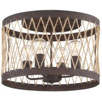 Crystorama ADR-A5024-FB Anders 4 Light 16 inch Forged Bronze Flush Mount Ceiling Light