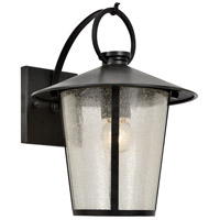 Crystorama AND-9201-SD-MK Andover 1 Light 11 inch Matte Black Outdoor Wall Mount