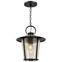 Crystorama AND-9203-SD-MK Andover 1 Light 9 inch Matte Black Outdoor Chandelier alternative photo thumbnail