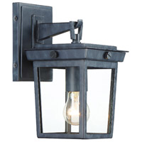 Crystorama Graphite Outdoor Wall Lights