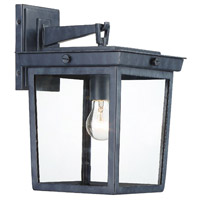 Crystorama BEL-A8062-GE Belmont 1 Light 14 inch Graphite Outdoor Wall Mount