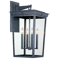 Crystorama BEL-A8064-GE Belmont 4 Light 26 inch Graphite Outdoor Wall Mount