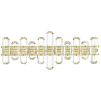 Crystorama BOL-8883-AG Bolton 3 Light 26 inch Aged Brass Bathroom Vanity Wall Light photo thumbnail