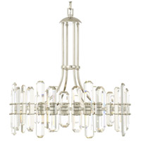 Crystorama BOL-8888-PN Bolton 8 Light 25 inch Polished Nickel Chandelier Ceiling Light