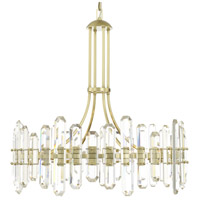 Crystorama BOL-8889-AG Bolton 12 Light 31 inch Aged Brass Chandelier Ceiling Light