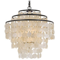Crystorama BRI-3008-DB Brielle 4 Light 18 inch Dark Bronze Chandelier Ceiling Light
