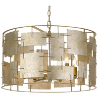 Crystorama BRO-4866-OX Bronson 6 Light 23 inch Oxidized Silver Chandelier Ceiling Light