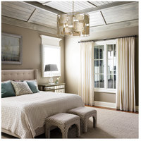 Crystorama BRO-4866-OX Bronson 6 Light 23 inch Oxidized Silver Chandelier Ceiling Light alternative photo thumbnail