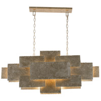 Crystorama BRO-4867-OX Bronson 6 Light 46 inch Oxidized Silver Chandelier Ceiling Light