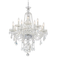 Crystorama CAN-A1312-CH-CL-SAQ Candace 12 Light 28 inch Polished Chrome Chandelier Ceiling Light