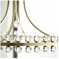 Crystorama CLO-8898-AG Clover 8 Light 23 inch Aged Brass Chandelier Ceiling Light in Aged Brass (AG) alternative photo thumbnail