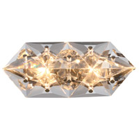 Crystorama COL-7902-CH Collins 2 Light 7 inch Polished Chrome Wall Sconce Wall Light