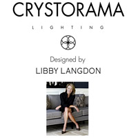 Crystorama DAN-406-PN Danielson 6 Light 25 inch Polished Nickel Chandelier Ceiling Light in Polished Nickel (PN) alternative photo thumbnail