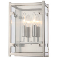 Danbury 2 Light 8 inch Brushed Nickel Wall Sconce Wall Light