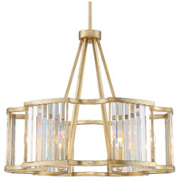 Crystorama DAR-1016-DT Darcy 6 Light 28 inch Distressed Twilight Pendant Ceiling Light