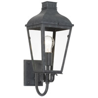 Crystorama DUM-9801-GE Dumont 1 Light 7 inch Graphite Wall Mount Wall Light