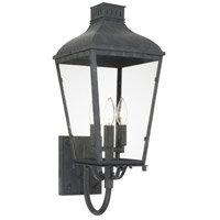 Crystorama DUM-9802-GE Dumont 3 Light 9 inch Graphite Wall Mount Wall Light