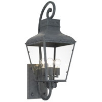 Crystorama DUM-9803-GE Dumont 3 Light 12 inch Graphite Wall Mount Wall Light