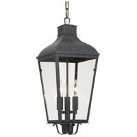 Crystorama DUM-9805-GE Dumont 3 Light 9 inch Graphite Chandelier Ceiling Light
