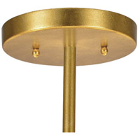 Crystorama FUL-907-GA Fulton 6 Light 24 inch Antique Gold Chandelier Ceiling Light in Antique Gold (GA) alternative photo thumbnail