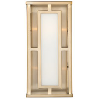 Crystorama HIL-992-VG Hillcrest 2 Light 6 inch Vibrant Gold Wall Sconce Wall Light