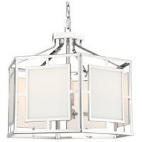 Crystorama HIL-995-PN Hillcrest 6 Light 22 inch Polished Nickel Chandelier Ceiling Light