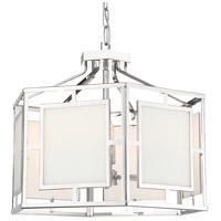 Crystorama HIL-995-PN Hillcrest 6 Light 22 inch Polished Nickel Chandelier Ceiling Light in Polished Nickel (PN)