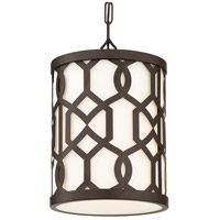 Crystorama JEN-2205-DB Jennings 1 Light 10 inch Dark Bronze Outdoor Chandelier, Libby Langdon