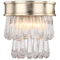 Crystorama JUL-7702-DT Julien 2 Light 10 inch Distressed Twilight Wall Sconce Wall Light