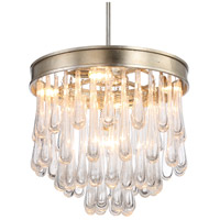 Crystorama JUL-7705-DT Julien 5 Light 21 inch Distressed Twilight Chandelier Ceiling Light