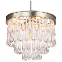 Julien 6 Light 25 inch Distressed Twilight Chandelier Ceiling Light