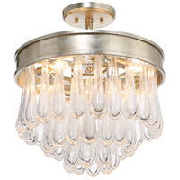 Crystorama JUL-7703-DT Julien 4 Light 16 inch Distressed Twilight Flush Mount Ceiling Light