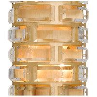 Crystorama MER-4862-GA Meridian 4 Light 7 inch Antique Gold ADA Wall Sconce Wall Light alternative photo thumbnail
