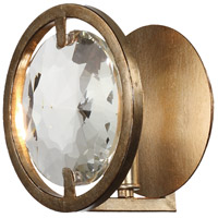 Crystorama QUI-7621-DT Quincy 1 Light 7 inch Distressed Twilight Wall Sconce Wall Light alternative photo thumbnail
