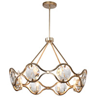 Crystorama QUI-7628-DT Quincy 8 Light 30 inch Distressed Twilight Chandelier Ceiling Light