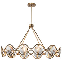 Crystorama QUI-7629-DT Quincy 10 Light 20 inch Distressed Twilight Chandelier Ceiling Light