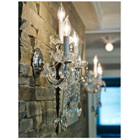 Crystorama 4423-CH-CL-MWP Maria Theresa 3 Light 11 inch Polished Chrome Wall Sconce Wall Light in Polished Chrome (CH), Clear Hand Cut alternative photo thumbnail