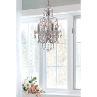 Crystorama Imperial 4 Light Mini Chandelier in Polished Chrome, Hand Cut 3224-CH-CL-MWP alternative photo thumbnail