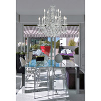 Crystorama Imperial 12 Light Chandelier in Polished Chrome, Hand Cut 3228-CH-CL-MWP alternative photo thumbnail