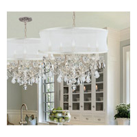 Crystorama Brentwood 6 Light Chandelier in Polished Chrome 4415-CH-SMW-CLM alternative photo thumbnail