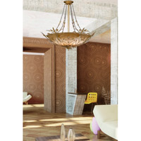 Crystorama 4700-GL Primrose 6 Light 25 inch Gold Leaf Chandelier Ceiling Light in Gold Leaf (GL) alternative photo thumbnail
