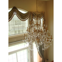 Crystorama Cortland 25 Light Chandelier in Olde Brass 498-OB-CL-MWP alternative photo thumbnail
