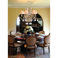 Crystorama Winslow 6 Light Chandelier in Champagne 6716-CM alternative photo thumbnail