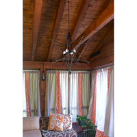 Crystorama 9236-EB Astro 4 Light 27 inch English Bronze Chandelier Ceiling Light alternative photo thumbnail